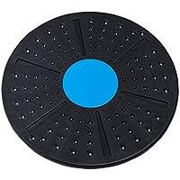 Allacers - Tabla de Equilibrio de plástico ABS, Placa de Masaje de pies para Gimnasio en casa, Equipo de Entrenamiento de Estabilidad
