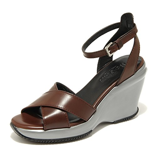 9890 sandali marroni HOGAN attractive sandalo donna shoes women [40]