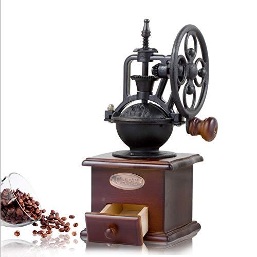 XIONGDA Molinillo de café Manual, esmeriladora de cerámica, esmeriladora portátil de Mano para el hogar, Oficina o Viaje
