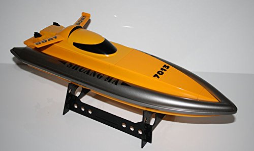 RC Rennboot Speed King V2 ferngesteuertes Schiff 25 km/h - beeindruckende 41cm Länge - alles inklusive!!