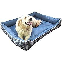 Cama para Mascotas Rectangular Lavable Cómodo Casa para Mascotas Cesta para Perro Adecuado para Gatos y