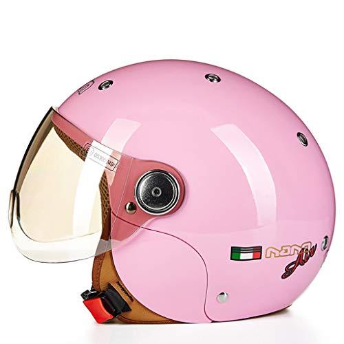 Helme Kinderhelm Nette Vier Jahreszeiten Motorrad Elektrische Schutzhelm Kind Junge Mädchen Winter Männer Und Frauen Baby (Farbe : B)