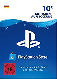 PSN Card-Aufstockung | 10 EUR | PS4, PS3, PS Vita Playstation Network Download Code - deutsches Konto (B00GWUSE1O) | Amazon Products