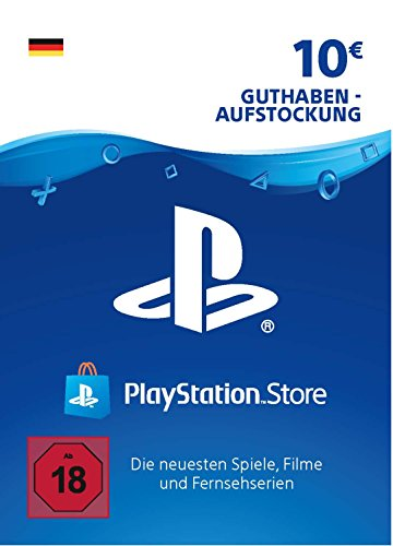 PSN Card-Aufstockung | 10 EUR | PS4, PS3, PS Vita Playstation Network Download Code - deutsches Konto (Ps Vita-ps3)