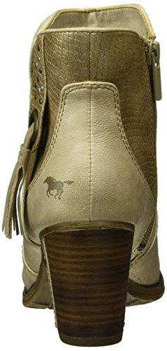 Mustang 1199-511, Bottes Classiques Femme Blanc Cassé (243 ivory)
