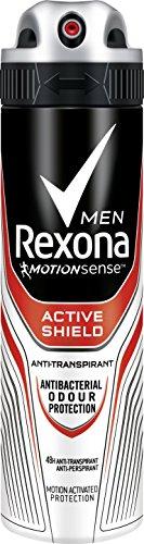 Rexona Men Deospray Active Shield Anti-Transpirant, 150 ml (6er Pack, 6 x 150 ml)