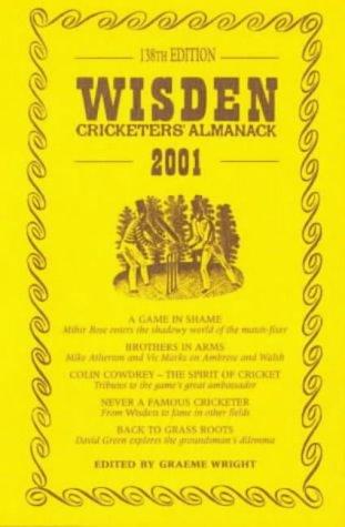 Wisden Cricketers' Almanack 2001 2001