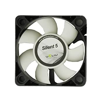 Gelid Solutions FN-SX05-40 Computer case Fan - Computer Cooling Components (Computer case, Fan, 5 cm, 4000 RPM, 23 dB, 12.9 cfm)