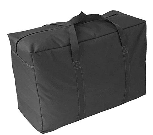 Aufbewahrungstasche für Bettdecke/Kisse, 150 l, Unterbettkommode für Bettdecke, Kissen, Kleidung, Wäsche, mit verstärkten Griffen (Duffle Zusammenklappbar Bag)