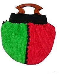 Sukla Creation Women's Casual Multi-Coloured Handbag (SUKLAC-007_Multi-Coloured)