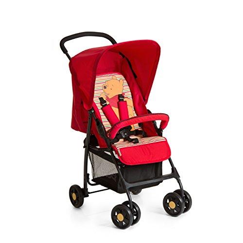 Hauck Sport - Sillita, diseño Pooh Spring Brights, color rojo