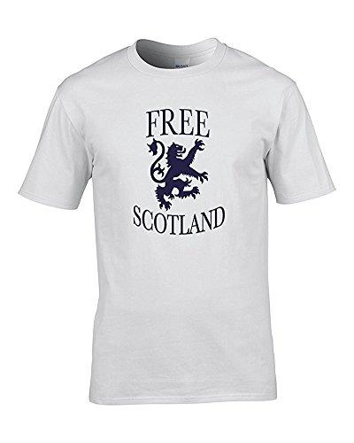 FatCuckoo Herren T-Shirt Weiß