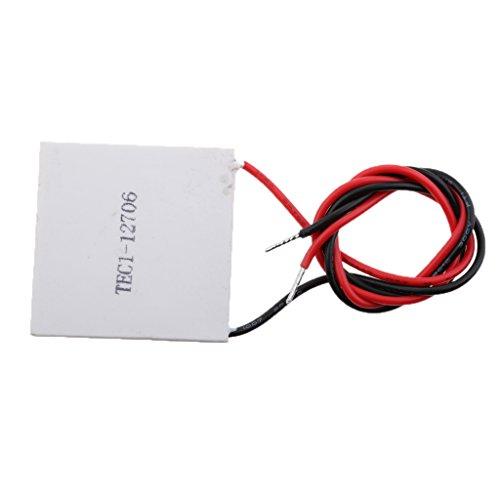 MagiDeal TEC1-12706 Kühlkörper Thermoelektrische Kühlvorrichtung Kühlung Peltier Platten Modul