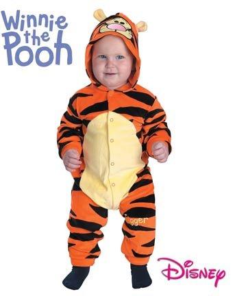 Tigger von Winnie the Pooh Bär Baby Kinder Jungen Halloween Fasching Karneval Kostüm (Halloween Pooh)