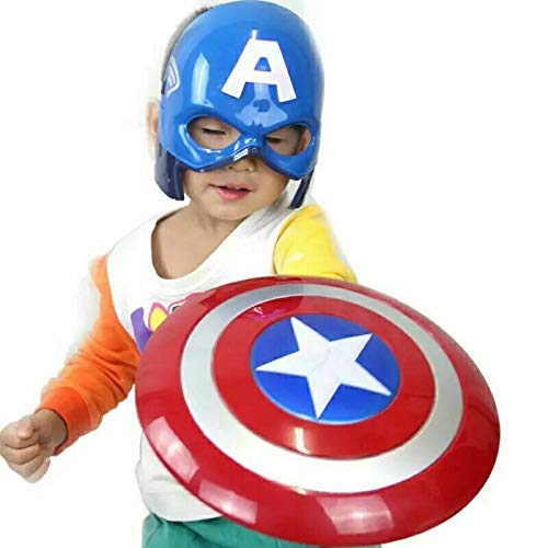 Balloonistics Captain America Basic Printed Shield (Red and Blue)