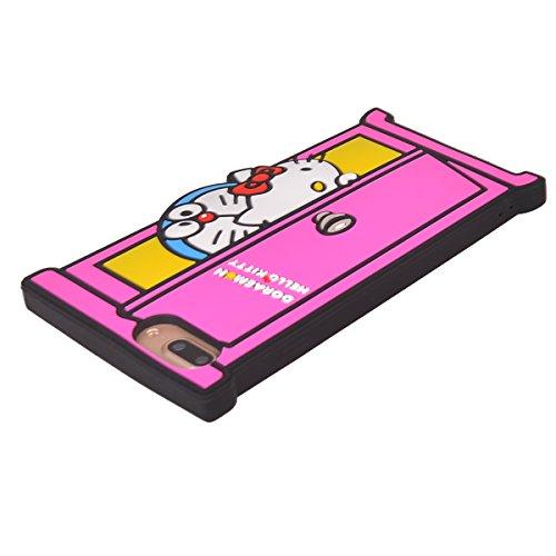 """iPhone 7 Plus (5.5"""") Hülle,COOLKE 3D Fashion Klassische Karikatur weiche Silikon Shell Schutzhülle Hülle case cover für Apple iPhone 7 Plus (5.5"""") - 004 010"""