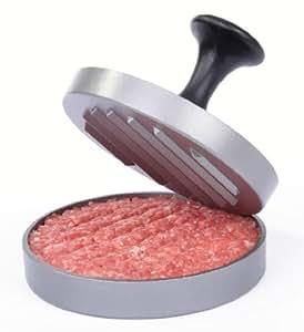 GRÄWE® Hamburgerpressen-Set - jetzt mit neuem Komfortgriff und 25 Blatt Backpapier