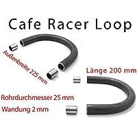Cafe Racer Loop Heckrahmen Sitz Frame 225mm 200mm Scrambler Bobber