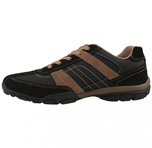 Dockers de chaussures Noir - Schwarz/Braun