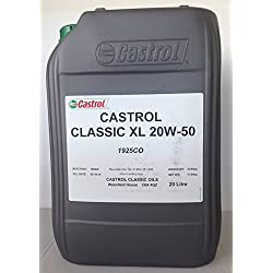 Castrol XL 20W50 Aceite de motor, 20L