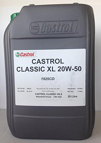 Castrol Classic XL 20W50 - 20 lit
