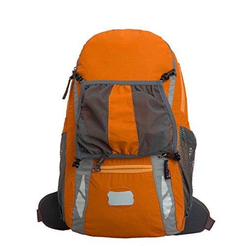 Borsa Da Viaggio Esterna Xin.S25L Borsa Da Arrampicata Impermeabile Copertura A Pioggia Tattiche Esterne Pacchetto Crit Di 3 Giorni Campeggio Escursioni A Piedi. Multicolore Orange2