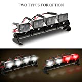 TianranRT RC Auto Platz LED Licht und Abdeckung für 1/10 RC Crawler Axial SCX10 D90 110 Traxxas