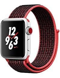 Apple Watch Nike+ OLED GPS (satélite) Display Diagonal Plata Reloj Inteligente - Relojes Inteligentes (OLED, Pantalla táctil, GPS (satélite), Móvil, 28,7 g, Plata)