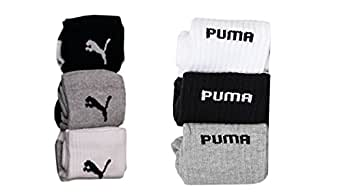 Set of 6 pairs logo Sports ankle length cotton towel socks