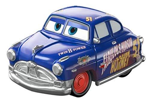 Mattel Disney Cars FBG74 Cars 3 Mini Racer, Racers aus Metall, Auto Fahrzeuge Modelle zur Auswahl (FBG97 - Radiator Springs Serie - Fabulous Hudson Hornet)