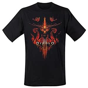 Diablo - T-Shirt Burning (in M)