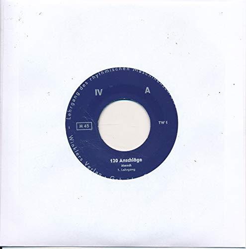 """120 Anschläge - Rhytmisches Maschinenschreiben - LC Single 7\"""" Vinyl 202/17"""