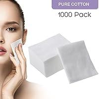 Los cojines de algodón suaves faciales del maquillaje 1000pcs para la cara componen quitar