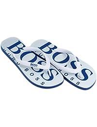 Boss Green Tongs Pour Homme - Bleu - Dark Blue 401, 41/42 EU
