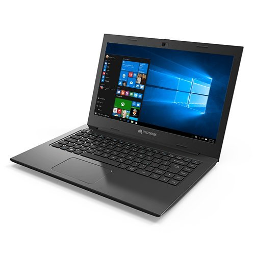 Micromax Neo PQC LPQ61407W 14.1-inch Laptop (Pentium N3700/4GB/500GB/Windows 10/Integrated Graphics),Black image