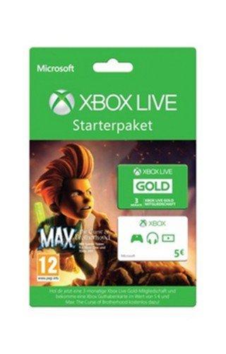 XBox Live Gold Card 3 Monate + 5 Euro XLive Guthaben