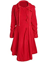 Outtop Women's Long Coats, Ladies Fashion Parkas Long Sleeve Winter Overcoat