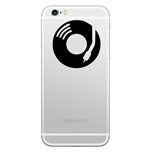 SmartProtectors! Sticker für iPhone 8 & 8 Plus iPhone 7 & 7 Plus, iPhone 6s & 6s Plus, iPhone 6 & 6 Plus / Aufkleber / Decal / Schallplatte / Disco / Musik / Dj (Stadt Disco)