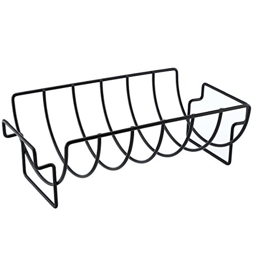 XUAXIONG Non-stick bbq rib rack Original Rib and Roast Holder Rib Rack grill Rack f WH-BQ009
