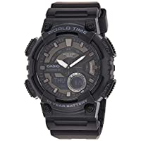 Casio Casual Watch Analog-Digital Display for Men AEQ-110W-1BV