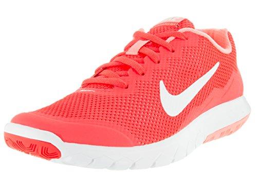 Nike Wmns Flex Experience Rn 4 Scarpe da ginnastica, Donna Naranja (Brght Crmsn / White-Atmc Pnk-Whi)