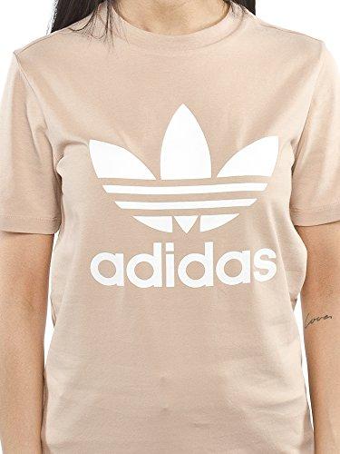 Adidas cv9894, Shirt kurzarm Damen, damen, CV9894 Beige