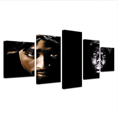 Wuwenw The Notorious Big Tupac 2Pac American Rapper