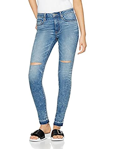 FIND Ripped, Jeans Femme, Bleu (Light Indigo), 10 (Taille Fabricant: