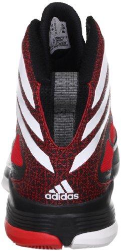 Adidas crazy fast black1/runwht/redsld Noir - black1/runwht/redsld