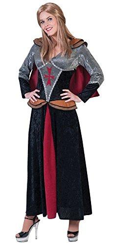 Ritter Lady Leonie Kostüm für Damen Gr. 44 46