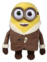 Tenero il peluche di Bob dei Minions alto 50 centimetri vestito come nel film, con l'eskimo, sarà il tuo compagno di giochi.