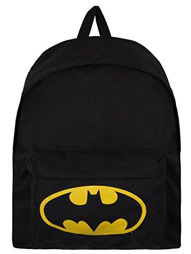 Batman Zaino Zainetto Backpack Logo Half Moon Bay