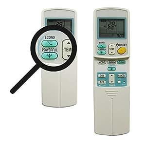 Telecomando ricambio arc 433a87 arc433a22 arc 433a88 for Climatizzatori amazon
