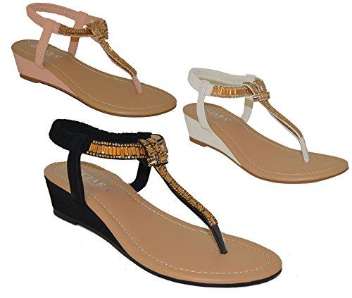 Ciara , Sandales pour femme Blanc - blanc